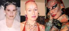 Mexican lawyer undergoes extreme body modification to become Vampire Lady (complete with titanium horns inserted into her head)