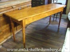 Alter küchentisch ~ Alter antiker esstisch 2 24 m lang tisch werktisch vintage