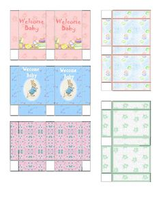 Free Dollhouse Printable Miniature gift bags