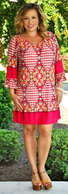 Perfectly Priscilla Boutique - Weak In The Knees Tunic, $40.00 (http://www.perfectlypriscilla.com/weak-in-the-knees-tunic/)