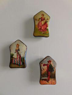 Miniature Kohler Chocolates tins