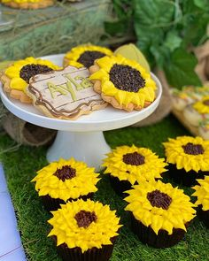 "Cookie Dessert Stylist Sydney on Instagram: ""Stop and smell the flowers, a great way to spend a birthday, smelling the flowers and thinking of the past 12 months. Have you moved…"" Sunflower Party, Cookie Desserts, 12 Months, Sydney, The Past, Birthday, Flowers, Plants, Instagram"
