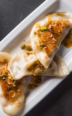Pork and Cabbage Dumplings (Wor Tip). To make a dumpling at home that lived up to those at our favorite Chinese restaurants, we lightened up our filling by increasing the amount of cabbage after first salting and draining it to get rid of excess moisture and then adding lightly beaten egg whites.