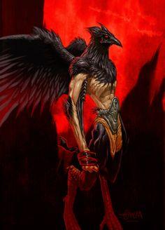 Raven by el-grimlock.deviantart.com on @DeviantArt