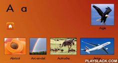 Mon Premier Livre De ABC  Android App - playslack.com ,  Mon premier livre de ABC est une approche colorée et interactive pour la apprentissage des lettres et des sons, pour les tout-petitsChaque lettre a plusieurs mots, permettant à des enfant afin des améliorer le vocabulaire et du renseignement.pour apprendre et se rappeler les alphabets une voie créatrice. Préparez les enfants pour l'école.Facile pour utiliser avec des touché gestes de contactImages attrayantes et bruits à parler qui…