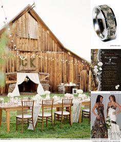 Camo Wedding Ideas