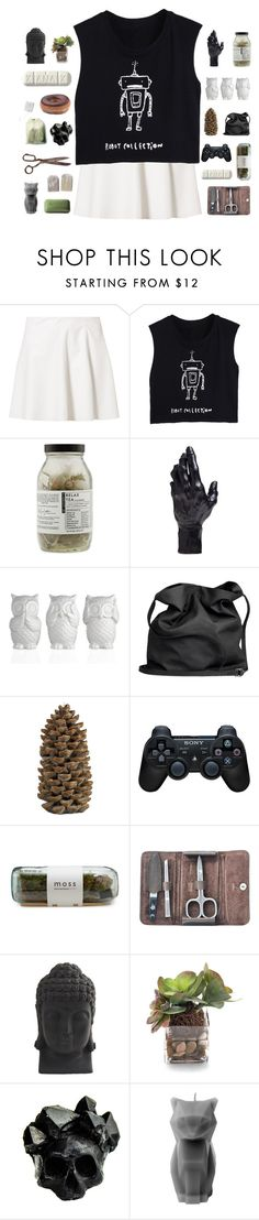 """""""first tag! ;)"""" by abbeyso ❤ liked on Polyvore featuring Vero Moda, Dr. Jackson's, D.L. & Co., Ann Demeulemeester, Crate and Barrel, Sony, Pfeilring, Nearly Natural, John-Richard and Macabre Gadgets"""
