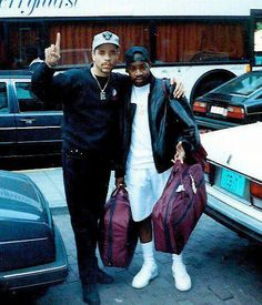 Ice-T and Lord Finesse 90s Hip Hop, Hip Hop Rap, Lord Finesse, History Of Hip Hop, Gang Starr, Hip Hop Classics, Hip Hop World, Ice T, Old School Music