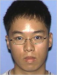 "Seung Hui Cho, South Korea, mass murderer responsible for the ""Virginia Tech shooting"" in Blacksburg USA, 33 victims, born January died April cause of death : suicide"