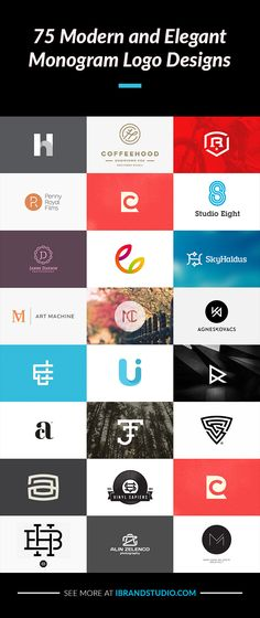 Monogram Logo: 75 Creative and Smart Designs