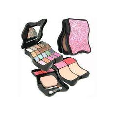 Fashion MakeUp Kit 62201: 2x Powder+ 2x Blush+ 20x Eyeshadow+ 5x Lip Color+ 3x Applicator -