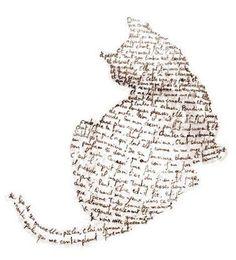 Erster Donnerstag in Jill Gedicht bei den Crôqueurs de Môtes von Dômi - Lénaïg - картинки для декупажа - Chat Cat Drawing, Life Drawing, Cat Love, Crazy Cats, Word Art, Cat Art, Collage Art, Art Projects, Illustration Art