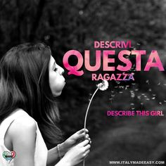 Descrivi questa ragazza Italian Memes, Make It Simple, Italy, Movie Posters, Movies, Film Poster, Films, Movie, Film