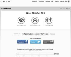 Uber referral credit Sign Out, Invite Friends, Uber, Take That, Coding, Programming