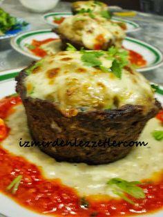 Köfte Kasesinde Patlıcan Beğendi | İzmirdenlezzetler