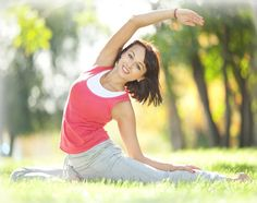 It might seem like the last thing on your mind, but if you're suffering from PMS, exercise can be a great way to ease your symptoms.  Exercise releases serotonin, the 'feel-good' chemical, which can help to improve your mood if you're feeling low.  In addition, exercising increases blood flow, which is thought to ease period pain.  Yoga is particularly effective, as it also incorporates deep breathing. This helps to reduce oxygen deprivation, which is a major cause of PMS cramps.
