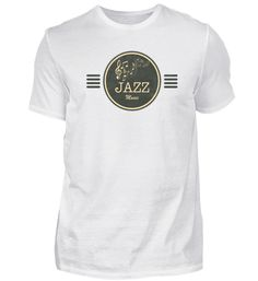 Jazz Jazz T-Shirt Jazz T Shirts, Mens Tops, Fashion, Cotton, Moda, Fashion Styles, Fasion