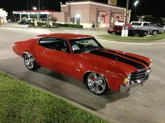 """The Muscle Car History Back in the and the American car manufacturers diversified their automobile lines with high performance vehicles which came to be known as """"Muscle Cars. Chevy Chevelle Ss, Chevy Luv, Dodge Charger, Vintage Cars, Antique Cars, Volkswagen, Chevy Muscle Cars, Old School Cars, Us Cars"""