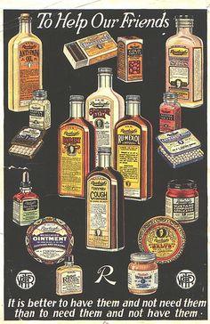 Vintage Medicine Ad by DianthusMoon, via Flickr