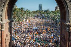 El soberanismo mantiene el pulso en la calle a la espera de los pasos del Govern