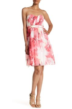 Printed Sweetheart Dress by Little Mistress on @HauteLook