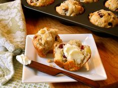 Tangy, sweet, & cheesy - the perfect combo for the holidays! Apple, Cranberry & Cheddar Muffins From Cabot Cheese. Definitely going to make these! Biscuit Muffin Recipe, Muffin Recipes, Apple Recipes, Cranberry Recipes, Fall Recipes, Cranberry Muffins, Apple Muffins, Cabot Cheese, Cheddar Cheese