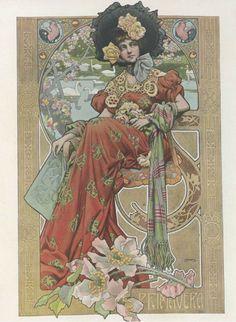 Gaspar Camps i Junyent (Spanish, painter, illustrator and poster artist of the Art Nouveau and Art Deco. Mucha Art Nouveau, Azulejos Art Nouveau, Alphonse Mucha Art, Bijoux Art Nouveau, Art Nouveau Poster, Design Art Nouveau, Illustration Art Nouveau, Retro, Jugendstil Design