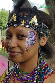 Face painting for adults adds colour to any event Face Painting Designs, Paint Designs, Hula Hoop, July 4th, Dame, Colour, Floral, Blog, Color