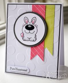 Stamps, Paper, Glitter! - Your Next Stamp - Smiley Happy Critters Three