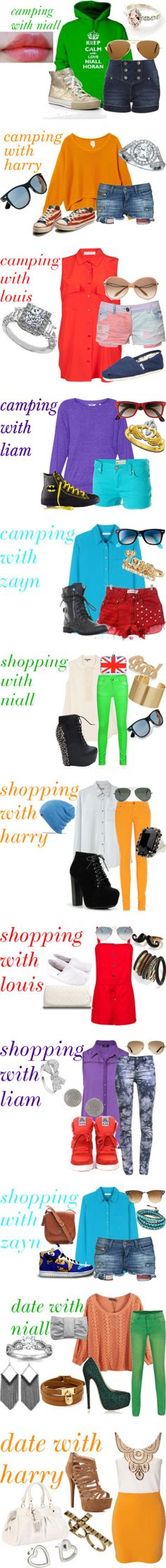 """one direction outfits"" by smashy-2001 ❤ liked on Polyvore"