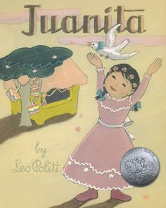 Originally published in 1948 and the recipient of a Caldecott Honor, Juanita captures the atmosphere of Olvera Street, the historic Latino community in downtown Los Angeles. Juanitas parents own a small shop, or puesto, which they have named after her, and one very much like those that line Olvera Street to this day. They sell brightly colored baskets, dresses, and fine lacework—all handmade. For her fourth birthday, Juanita is dressed in a beautiful rose-colored gown and is given a white…