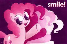 Pinkie Pie - Smile! by kefkafloyd.deviantart.com on @DeviantArt