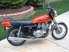 Suzuki GS 750- I had one in 1977, I saw it from the time it was uncrated till I sold it about five years later. My daughters were more important than my bike. I wish I had it back, what a ride...