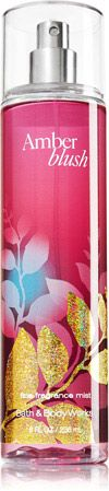 Amber Blush is one of my favorite scents. Fine Fragrance Mist - Signature Collection - Bath & Body Works