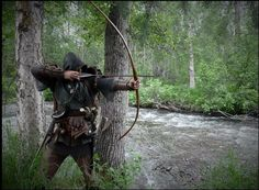 Medieval Dreams - Longbow is like a moon growing and hunting with...