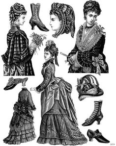 Lovely stuff from 19C American Women: Print Archives -- Women's Fashion