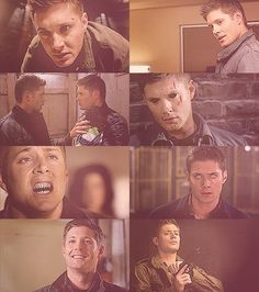 The many faces of Dean....
