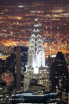 Chrysler Building at night, NYC