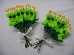 Bouquet de sapinhos para ser jogado para as amigas da noiva!!!!!! R$ 180,00