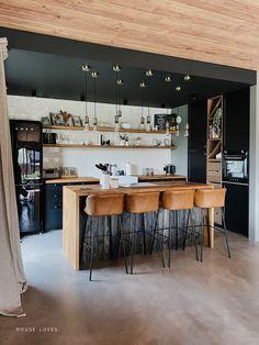 Kuchnia - projekt NYLOFT — HOUSE LOVES Interior, Kitchen, Table, Furniture, Home Decor, Decorating Ideas, Cooking, Decoration Home, Room Decor