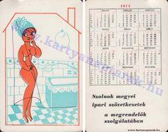 1974 - 1974_0674 - Régi magyar kártyanaptárak