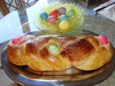 easter+dinner+ideas | Greek Easter Bread My picture from a previous Easter. 2 7-gram packets ...