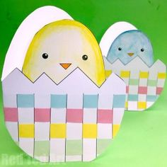 Adorable and easy pop up chick card for Easter! The kids will ADORE making these super quick and easy Easter Pop Up Cards. I love all the bright jolly colours that just scream spring!! They are of course great throughout the year too (say for a Birthday or just a general greeting card), but are …
