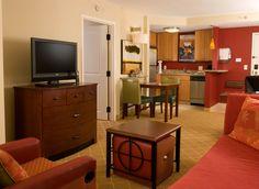 Residence Inn Ft. Myers Sanibel Hotel-King Guestroom Living Area http://www.marriott.com/hotels/event-planning/travel/rswrs-residence-inn-fort-myers-sanibel/