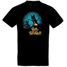 Happy Halloween szörnyfás póló feketében Happy Halloween, Polo, Mens Tops, T Shirt, Supreme T Shirt, Tee Shirt, Polo Shirt, Polo Shirts, Tee