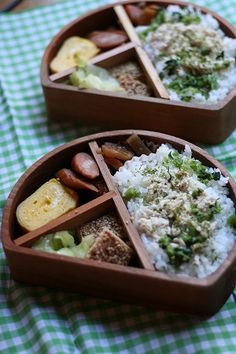 Japanese box lunch, Bento お弁当 Japanese Food Sushi, Japanese Lunch, Japanese Style, Bento Recipes, Baby Food Recipes, Food Humor, Cute Food, Healthy Foods To Eat, Food Design