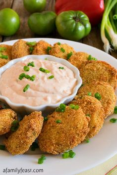 Fried Green Tomatoes -- Part of The Best Southern Comfort Food Recipes