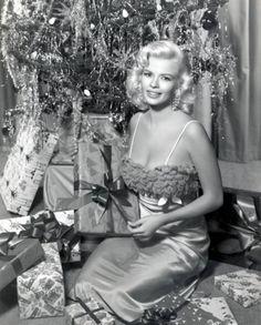 Jayne Mansfield  Christmas - 1950s