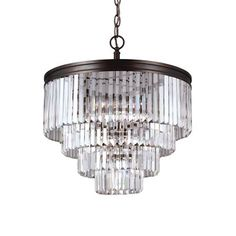Sea Gull Lighting 3114006 Carondelet 6 Light Chandelier