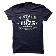 Vintage 1975 T Shirts, Hoodies. Get it here ==► https://www.sunfrog.com/LifeStyle/Vintage-1975-13023572-Guys.html?41382
